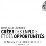 Budget fédéral février 2014