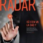 Couverture du RADAR de juin-juillet-août 2014