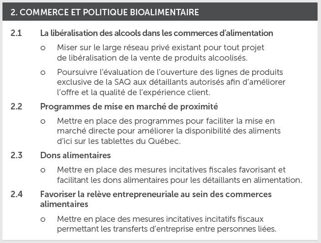 consultations prébudgétaires_commerce et politique bioalimentaire