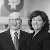 René et Linda Lapointe (père & fille)